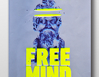 Free Spirit / Free Mind - Screenprint
