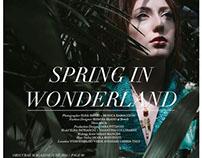 Fashion Editorial in Obscurae Magazine (print version)