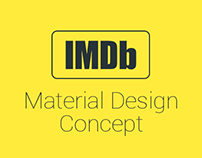 IMDb Movie Card - Material Design Concept