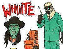Whiiite Sticker Pack Illustrations