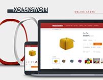 KOLEKSİYON Online Store Design