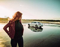 Palina Rojinski X Mercedes Benz
