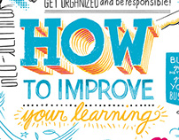 How to improve your learning – graphic for Haaga-Helia