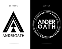 Redesign Logotipo - Anderoath