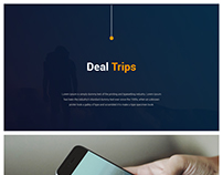 Deal Trips Travel portal App Design