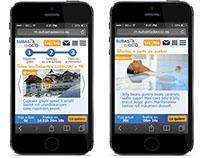 Subasta de Ocio Web app