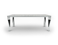 Free 3D Model: Diamond table by Molteni&C