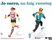 Infografia interactiva 'Jo corro, no faig running'