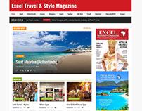 Excel Travel & Style Magazine website