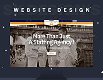 Verve People Website Design