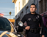 Life and work of a real Los Angeles Cop