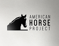 Brand Identity for American Horse Project