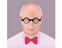Wally Olins Portrait