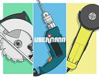 Ubermann - Herramientas inalámbricas