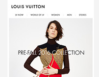 Louis Vuitton (USA) Email Redesign