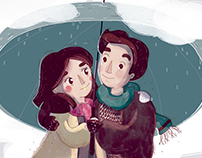Rain is better with you