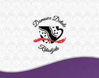 Domowe Detale - Logo, wizytówki, ulotki