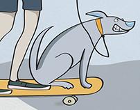 Longboard Dogwalker