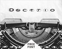 Dactylo | Free Font