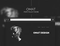 Omat - Portfolio Theme