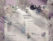 Spring menu