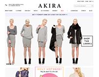 Shop Akira - Online Shopping Website