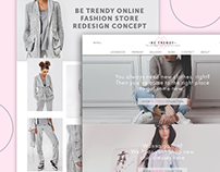 Online Fashion Store Concept