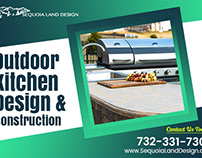 Outdoor Kitchen Design and Construction Service Edison,