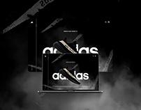 WEB DESIGN - Adidas YEEZY Landing Page