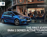 BMW 2series Campaign by Michael Seidler Photography