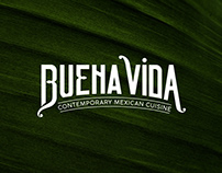 Buena Vida Restaurant logo redesign