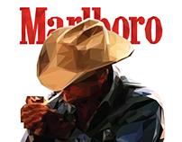 Marlboro - Low Poly