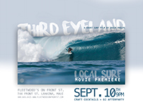 Local Surf Movie Ad & Mailing - Maui, HI