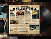 Album Art & Website Design for The Turbo A.C's