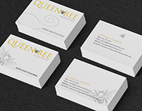 Queen Bee Hospitality Marketing | Business Card Design