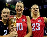 Mizuno // USA // Women's Volleyball Teamwear // SS15