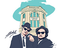 Blues Brothers for #SaveBorsalino