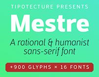 Mestre, a rational & humanist sans-serif