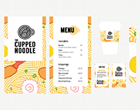 The Cupped Noodle - Branding