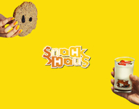 SnackHaus Ambigram Logo