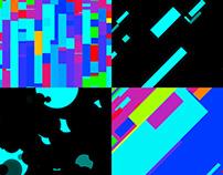 Pattern Glow - VJ Loop Pack (5in1)