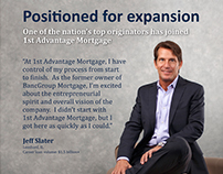1st Advantage Mortgage Expansion Ads