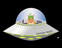 Alien Cat Stickers
