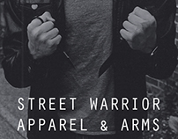 Street Warrior business card