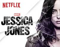 Jessica Jones season 1 designs for the Netflix service