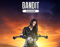 BMW - BANDIT GARAGE on road