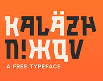 Kalashnikov | Free Font