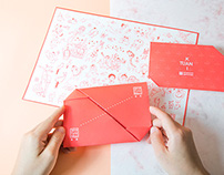 Kai+Tuan wedding invitation card