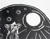 For Fox Sake — Linoleum Block Prints