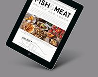 Fish & Meat E-mail Design